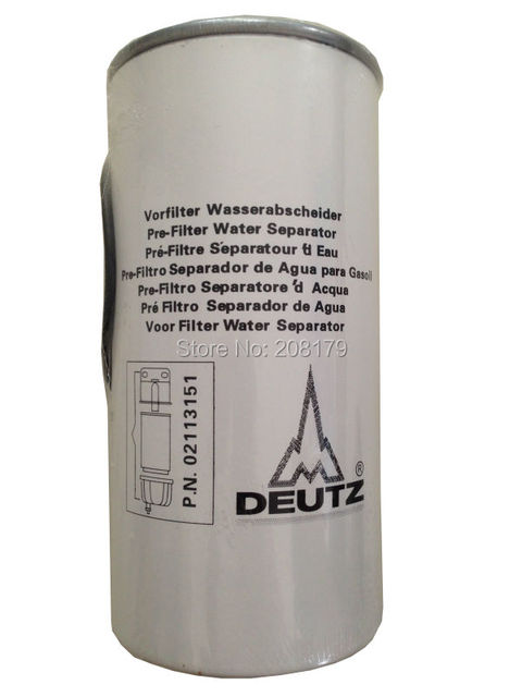 us $75 0 deutz fuel filter pre filter water separator oem 02113151 in atv parts \u0026 accessories from automobiles \u0026 motorcycles on aliexpress com Chrysler Marine Fuel Filters