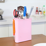 Capable of draining triangle kitchen storage rack knife 19*16.5*20cm