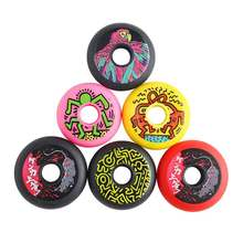 4 Pcs Quality PU Sliding Inline Skates Wheels Use for Roller Skate Scooter Skateboard Wheel 85A 83A 90A 72 76 80 MM Dropshipping