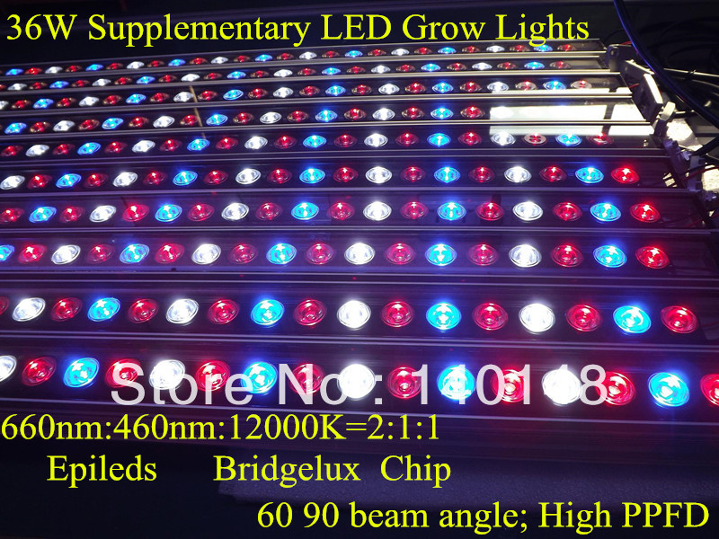 horticulture/greenhouse/hydroponics,waterproof 36w led grow lampen ...