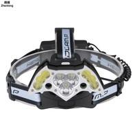 T6 LED Headlight Aluminum Alloy Headlamp Bat Headlights USB Charging COB Cap Lamp 18650 for Hunting Cycling Hiking Camping