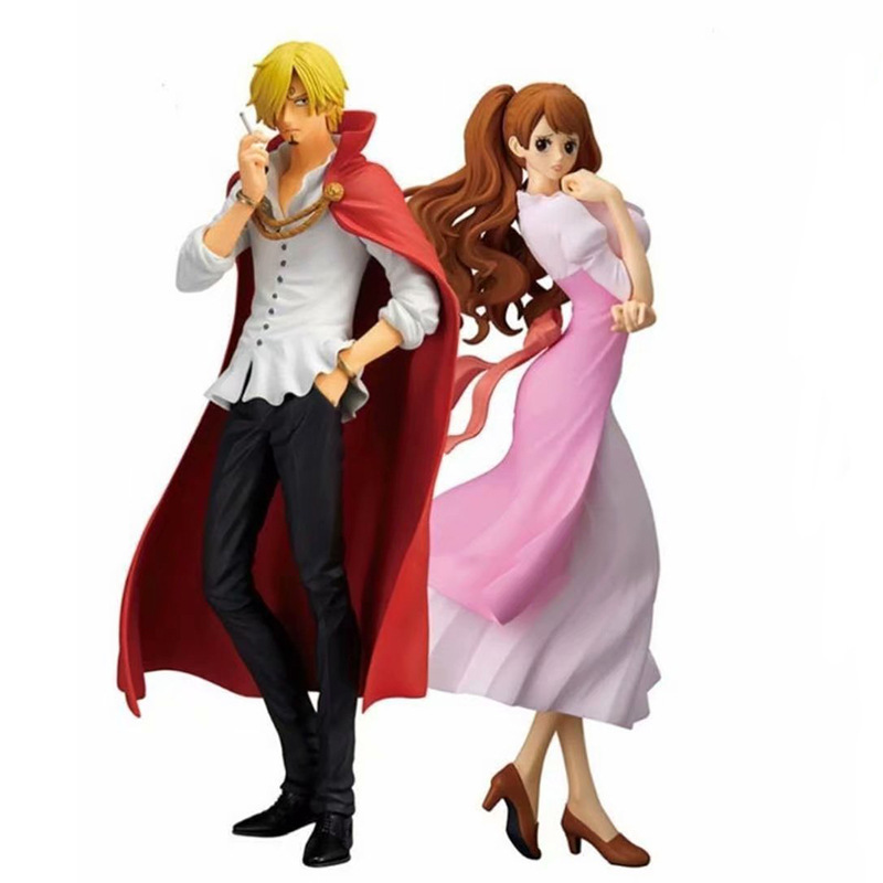 25CM One Piece Sanji Charlotte Pudding Get Married Figurine Dolls Toys PVC Action Figure Collection Model Toy H57025CM One Piece Sanji Charlotte Pudding Get Married Figurine Dolls Toys PVC Action Figure Collection Model Toy H570