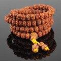 Ubeauty 8 мм 108 Непал природный бодхи бисер браслет Тибетского Буддизма молитва джапа мужчины браслеты медитация ожерелье