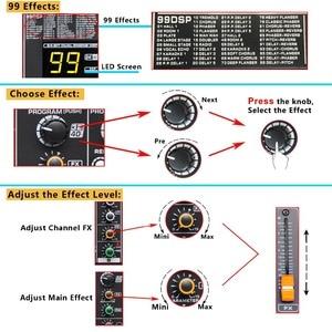 Image 4 - Freeboss MINI12 enregistrement Bluetooth 12 canaux (Mono) 99 DSP effet USB fonction de lecture et denregistrement table de mixage Audio professionnelle