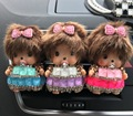 O estilo do carro requintado decoração Strass Meng kiki Automotivo Ar condicionado carro perfume clipe Perfume Sólido ambientador