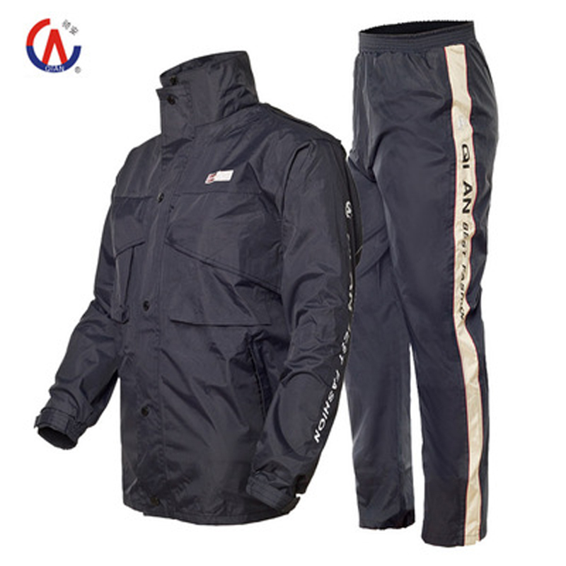 2018 new men motorcycle jacket riding raincoat rain suit & pants women the trekking climbing scooter bicycle raincoat clothing reflective raincoat rain pants waterproof single raincoat men and women for riding working free shipping