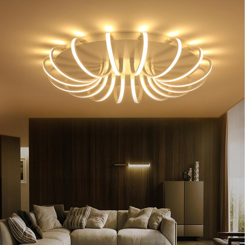 modern led ceiling lights luminaria de teto deckenlampe lamp lighting fixtures living kitchen dining room bedroom light