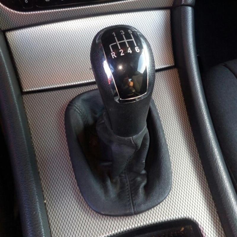 ICT Gear shift knob heavy gaiter boot frame Mercedes W203 CL S 203 C Class