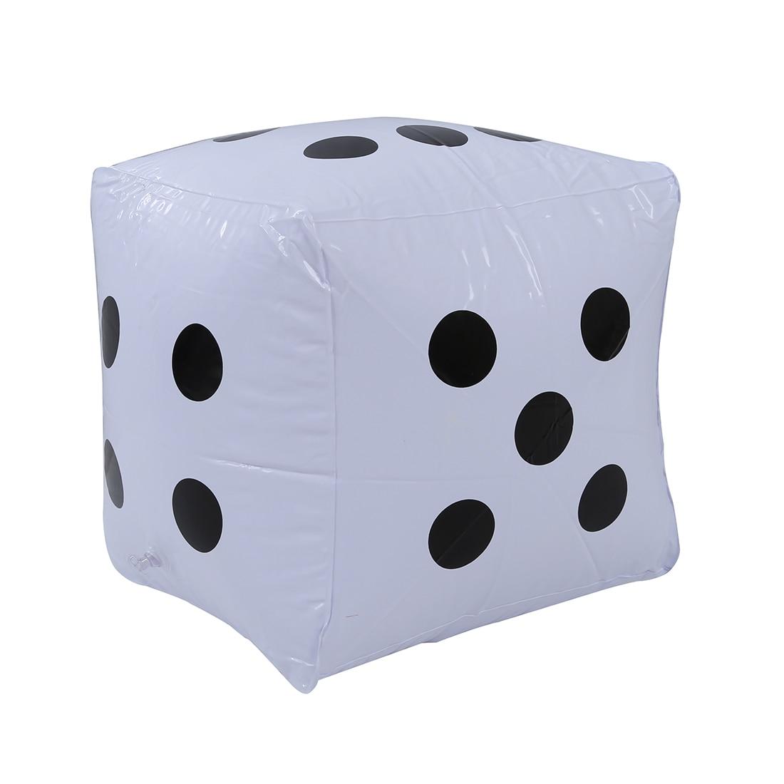2 шт. большие надувные Игральная кость бассейн игрушка партия выступает --- белый