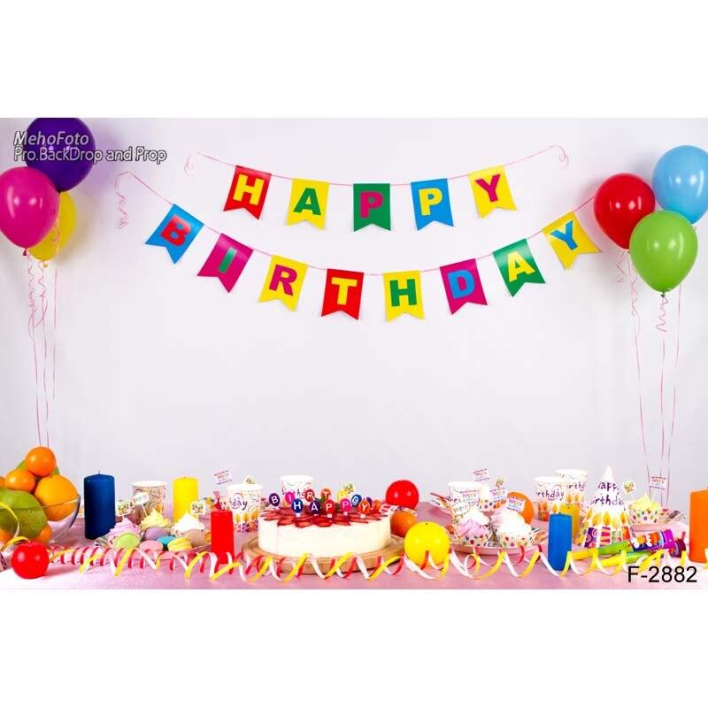 0ace3f86e395 Винил фотографии фоном Компьютер Отпечатано День рождения Baby Shower фонов  для фотостудии f-2882