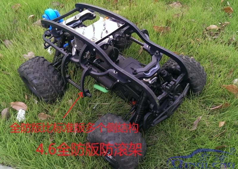 For Hpi SAVAGE 4 6 whole plastic Roll cage protect roll cage rise head not include