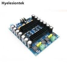 TPA3116D2 akkumulátor nagy teljesítményű erősítő kártya DC12V 24V 150W * 2 kétcsatornás audió digitális autós erősítő