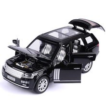 1:32 Range Rover SUV Simulation Toy Car Model Alloy Pull Back Children Toys Collection Gift Off-Road Vehicle Kids 6 open door