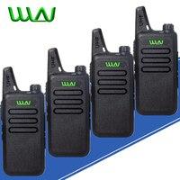 מכשיר הקשר 4pcs WLN KD-C1 מיני מכשיר הקשר ניידת רדיו אלחוטי Silm כף יד KDC1 C2 שני הדרך רדיו משדר HF Ham Radio Station (1)