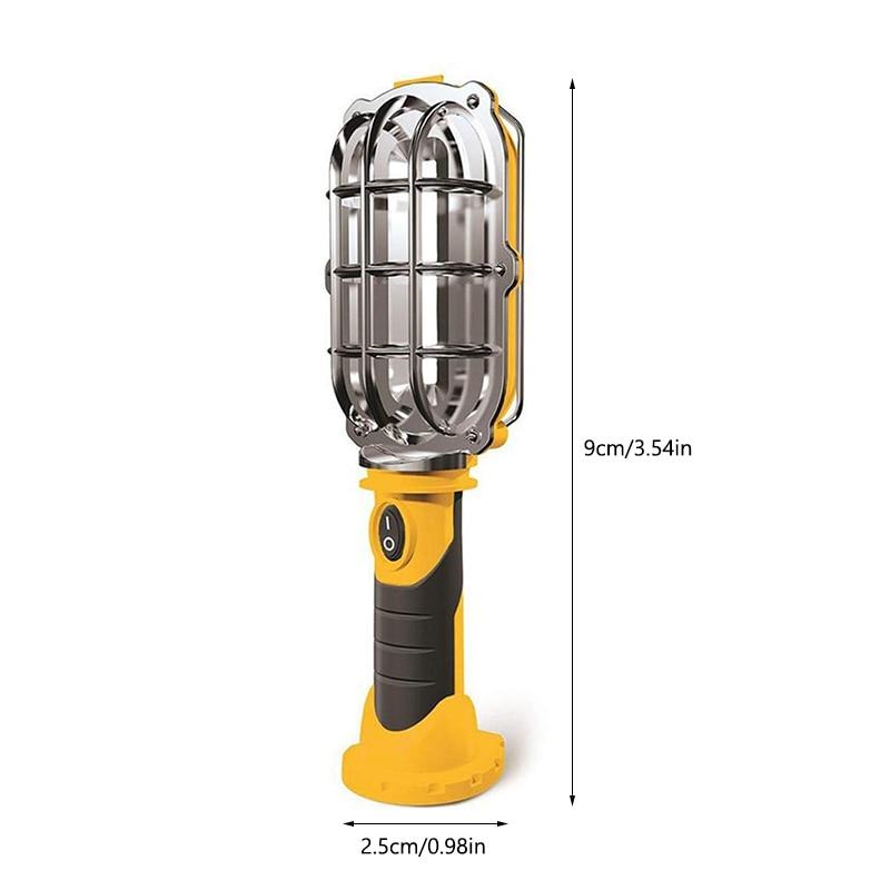 Portable LED Night Light COB Flashlight Magnetic Working Torch Lamp Tent Light