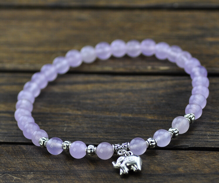 Women White Opals Anklet Pink Crystal Ankle Bracelet Beaded Foot Chain Friendship Charm In Anklets From Jewelry Accessories On Aliexpress