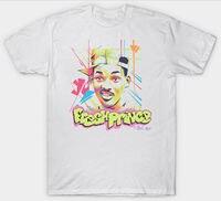 Fresh Prince OF BEL AIR футболка WILL SMITH, повседневная принтованная футболка, забавная футболка в стиле хип-хоп, бесплатная доставка, дешевая футболка, ...