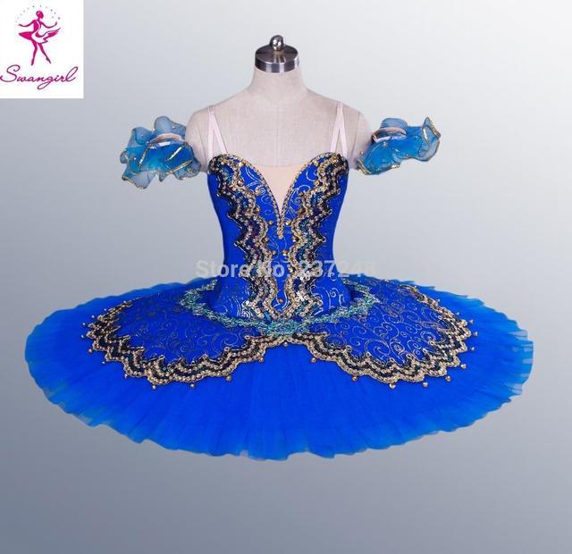 Azul ballet tutu profissional adulto traje black swan lake ballet tutu, tutu de balé vermelho para saleBT8944