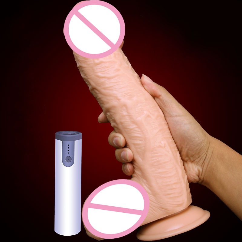 Huge Big Soft Silicone Vibrating Dildo Realistic 290*55mm Large Suction Cup Penis Artificial Giant Dildos For Women Sex Toys huge big silicone horse dildo suction cup large artificial penis animal dildos for women giant fist dildo sex toys for woman