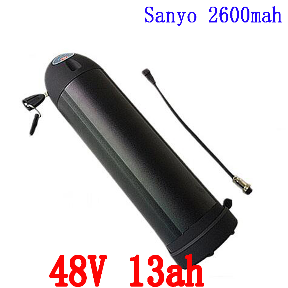 Free customs tax 48V 13Ah samsung bottle lithium battery electronic bicycle battery with fit BBS02 750W BBSHD1000W bafang motor