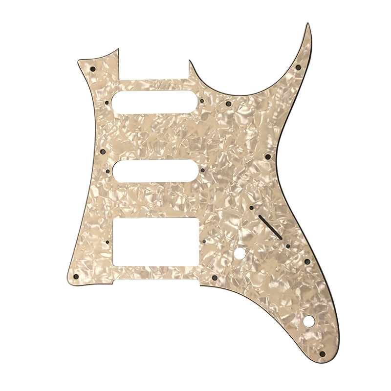 pleroo custom guitar parts for mij ibanez grx40 guitar pickguard humbucker pickup scratch plate. Black Bedroom Furniture Sets. Home Design Ideas