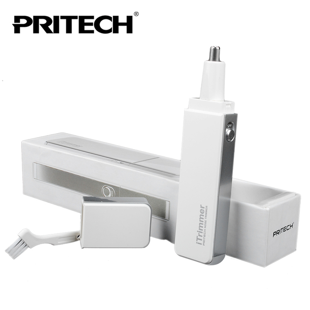 PRITECH Fashion Ultra Thin Nose Ear Trimmer With LED Light Men Trimmer For Personal Care Use