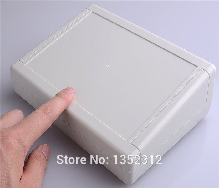 3 pcs/lot 200*145*64mm plastic wall-mounted plastic electronic project box abs enclosure PLC instrument box waterproof case