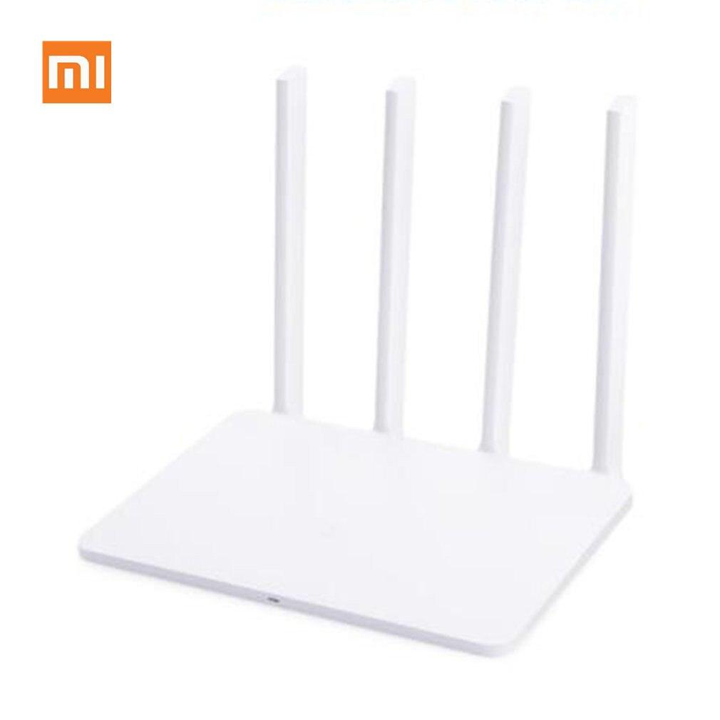 Xiao mi mi Routeur 3G répéteur wi-fi 1167 Mbps 2.4G/5 GHz Double 128 MB Bande Flash ROM 256 MB Mémoire APP Contrôle mi routeur sans fil 3g