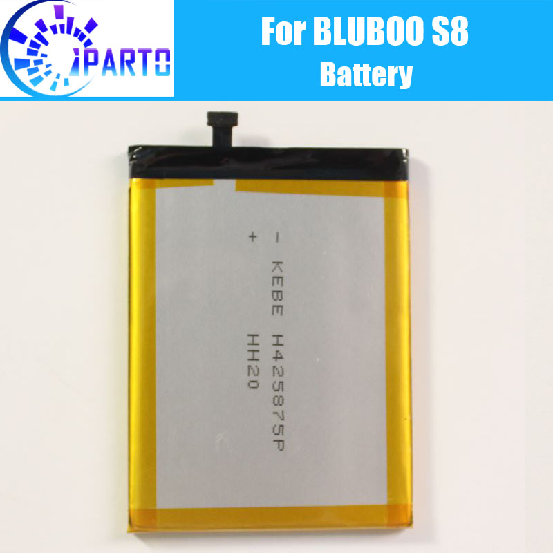 BLUBOO S8 <font><b>Battery</b></font> Replacement 100% Original New <font><b>High</b></font> Quality <font><b>High</b></font> <font><b>Capacity</b></font> 3450mAh <font><b>Battery</b></font> for BLUBOO S8