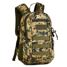 Fishing Cycling Bag Military Tactics Backpack Camouflage Mochila Sports Bags Molle Outdoor Rucksack Trek  Bag 14L Backpacks