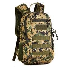 Fishing Cycling Bag Military Tactics Backpack Camouflage Mochila Sports Bags Molle Outdoor Rucksack Trek Bag 14L Backpacks