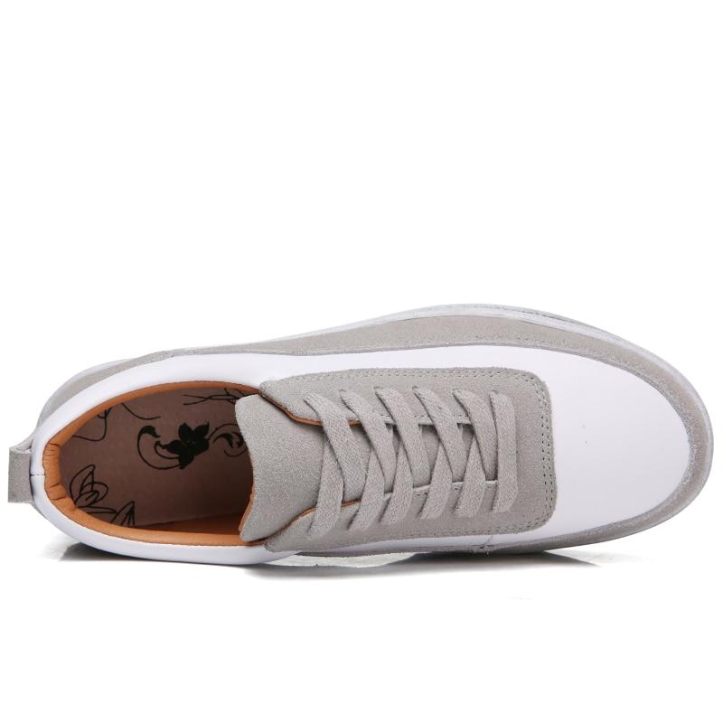 Top Donna scamosciata Pelle D1706 Designer Scarpe donna nero O16u Casual Scarpe da Retro Ladies Autunno basse basse Beige Sneakers Quanlity D1706 New qPvFacv