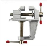 High Quality Mini Table Vice Aluminium Alloy Bench Screw Bench Vise For DIY Jewelries Craft Mould