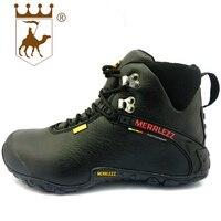BACKCAMEL/осенне-зимние теплые сникерсы из хлопка с высокой шнуровкой, уличная Мужская обувь высокого качества, размеры 39-44