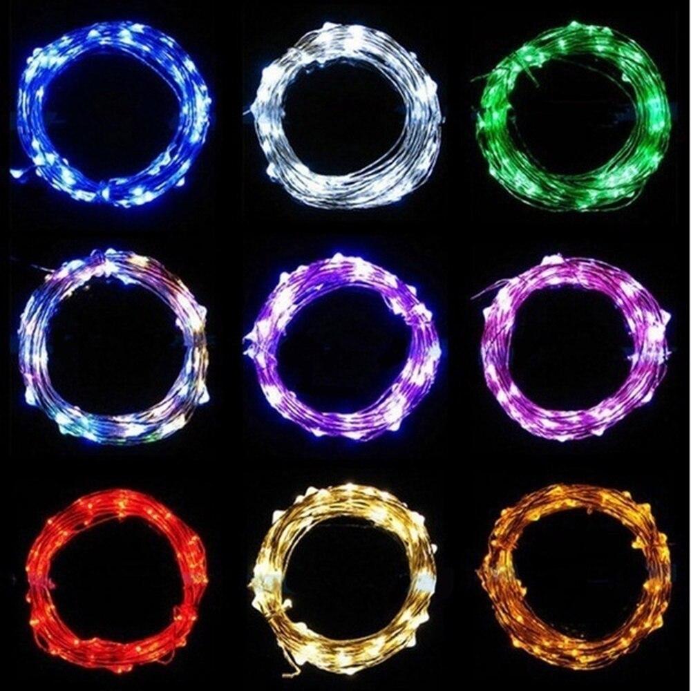30 40 50 100LED Party Brilhantes Luzes