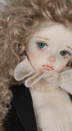 Bjd boneca sd boneca 1/4 do bebê do sexo feminino 4.3 boneca (olhos livres + livre make up)