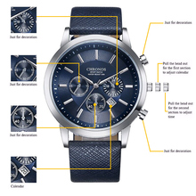 Top Luxury Brand CHRONOS Men Quartz Watch Business Fashion Casual Sport Wristwatches Male Military Clock Religion Masculino SAAT