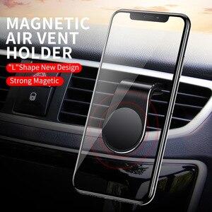 Image 2 - Mentale Magnetische Auto Telefoon Houder Air Vent Mount Mobile Smartphone Stand Magneet Ondersteuning Mobiele In Auto Voor Iphone Samsung Lg