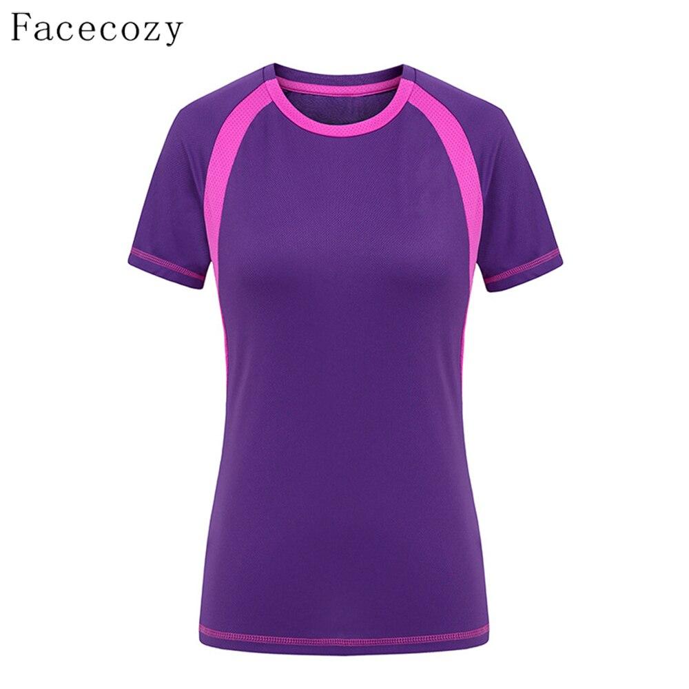 Facecozy Women Summer Quick Dry Hiking tričko Female Pesca Sport - Sportovní oblečení a doplňky