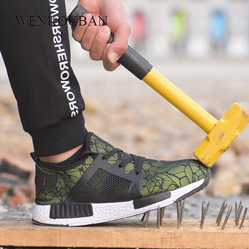F Sicherheit & Schutz Ac11009 Sicherheit Schuhe Mann Sicherheit Schuh Industrie Bau Stiefel Boot Stahl Kappe Kappe Arbeit Schuhe Damen Mit Stahl Kappe