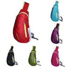 Outdoor Sports,Chest Bag, Satchel Chest Pack  Waterproof Nylon Light Multifunctional Leisure Single Shoulder Bag