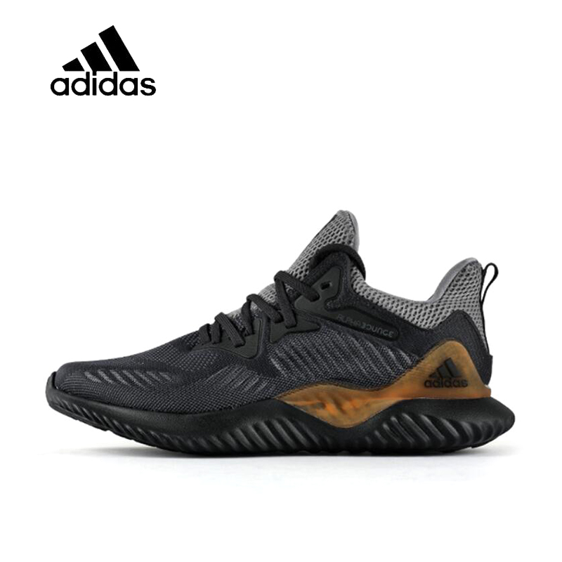 Official Original Adidas AlphaBOUNCE Running Shoes for Men Winter UltraBOOST Jogging Stable Breathable Outdoor Gym Shoes Leisure original adidas alphabounce women s running shoes sneakers