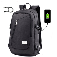 Notebook Backpack Leisure Travel External USB Charge Laptop Bags Tablet Case Men Women Computer Cover Bag
