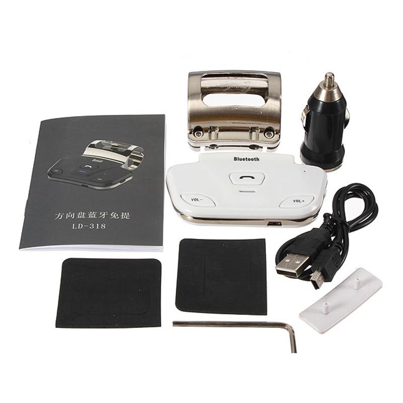 """Siparnuo vairo belaidis """"Bluetooth"""" automobilinis rinkinys - Automobilių Elektronika - Nuotrauka 3"""