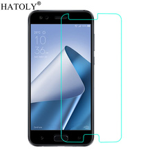 2PCS Screen Protector Glass For Asus Zenfone 4 ZE554KL Tempered Glass For Asus Zenfone 4 ZE554KL Glass ZE554KL HATOLY смартфон asus zenfone 4 ze554kl black 90az01k1 m01210