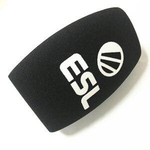 Image 2 - Linhuipad mikrofon schwamm drucken covers angepasst mic windscreens logo schaum windschutzscheibe für TV stationen reporter interview