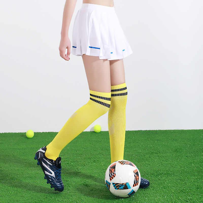 サッカーソックス男性のストッキング子供のスポーツソックス女性大人バスケットボールを実行している Sportwears スキッドプルーフ汗吸収