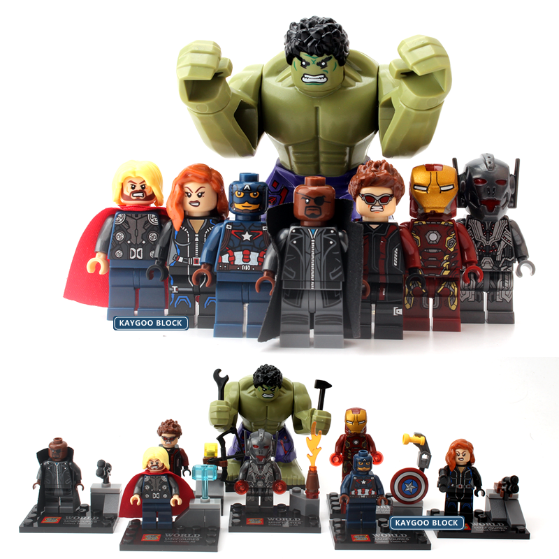 Marvel Action Figure Legoingly Iron Man Thanos Captain America Hulk Joker Deadpool Building Blocks Gifts Toys For Children X0225 Available In Various Designs And Specifications For Your Selection Blocks Toys & Hobbies