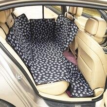 حاملات الكلاب غطاء المقعد الخلفي للسيارة مضاد للماء أثناء السفر سجادة للحيوانات الأليفة واقي الأرجوحة آمن لحمل القطط مستلزمات حيوانات أليفة