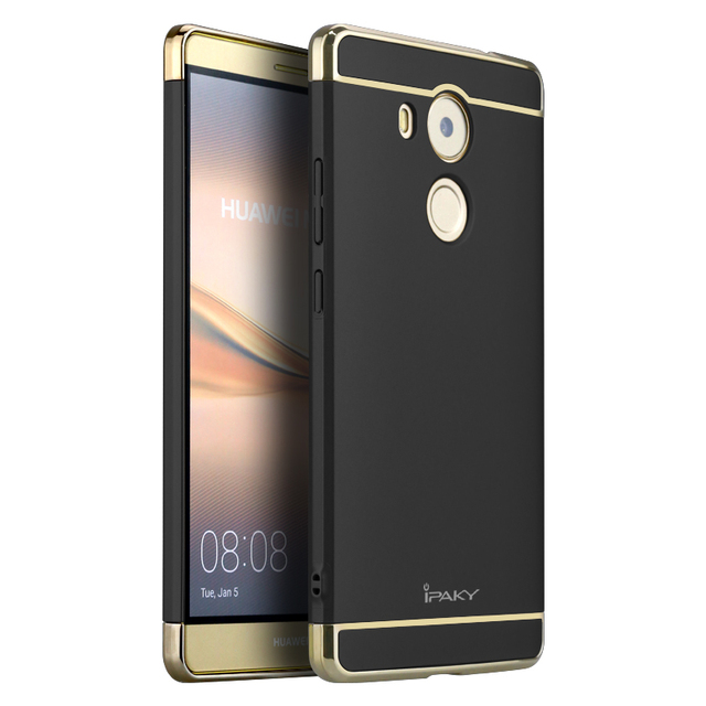 Ipaky New Housing For Huawei Mate 8 Case 3 In 1 Set Hard Plating